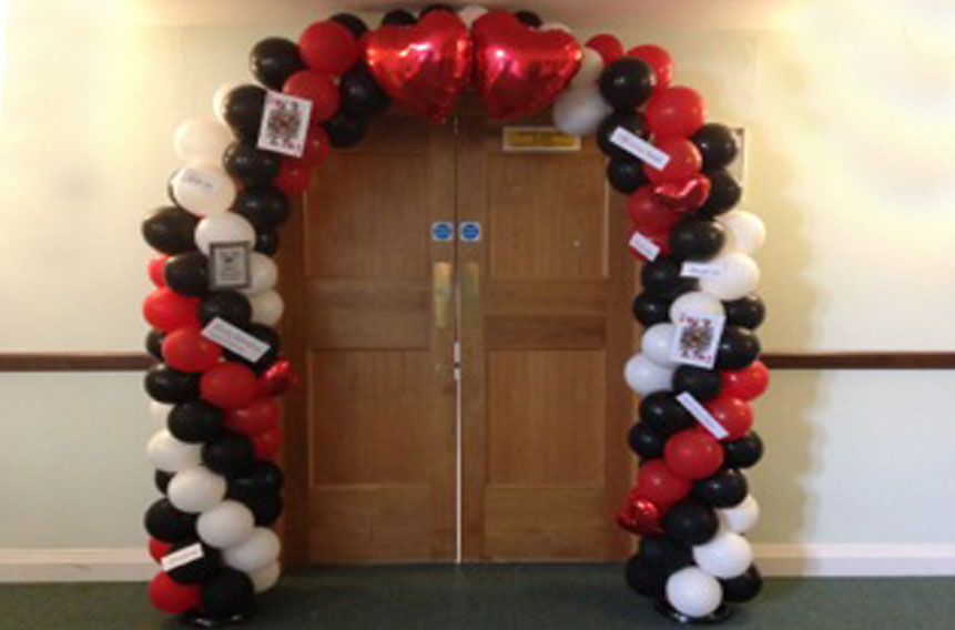 Flowers and balloons for Events in Hertfordshire, Bedfordshire and South Cambridgeshire