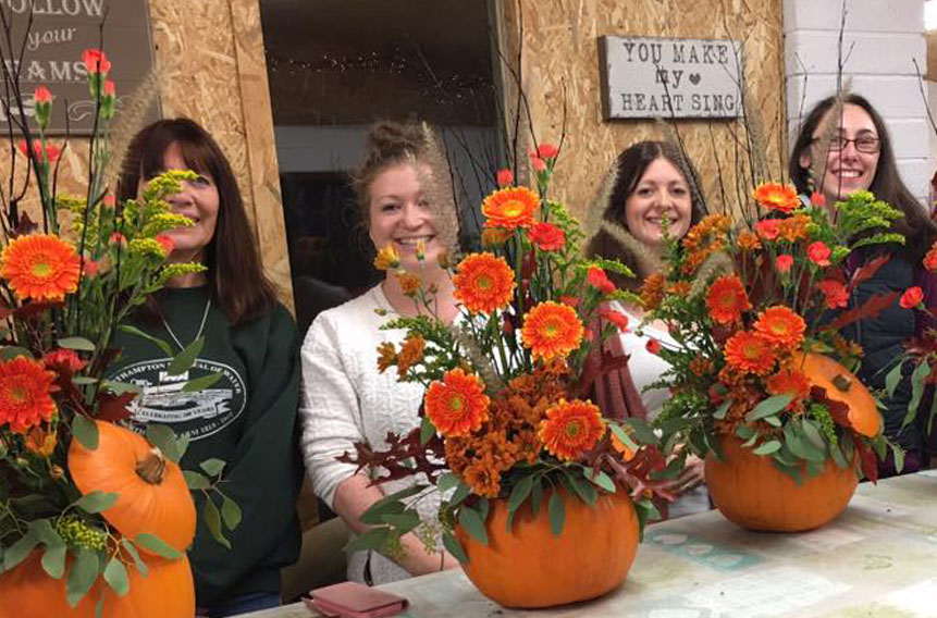 Seasonal Flower Workshops Hertfordshire, Bedfordshire and South Cambridgeshire